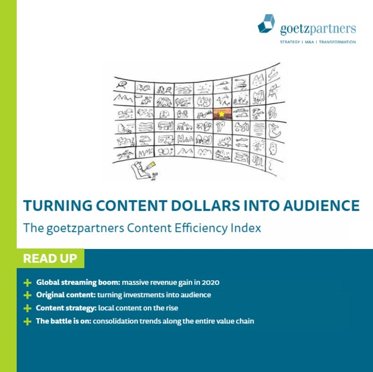 Study: Turning content dollars into audience