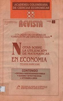 Revista Academia colombiana de Ciencias Económicas