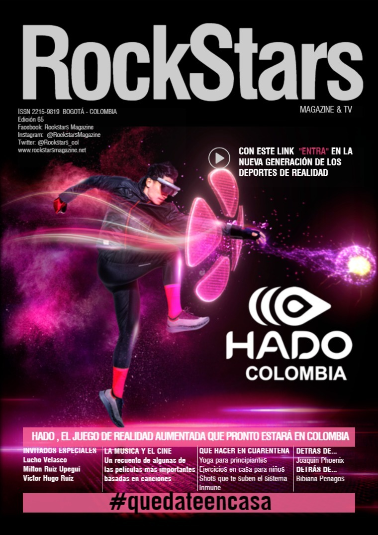 Rockstars Magazine Abril 2020 Abril 2020