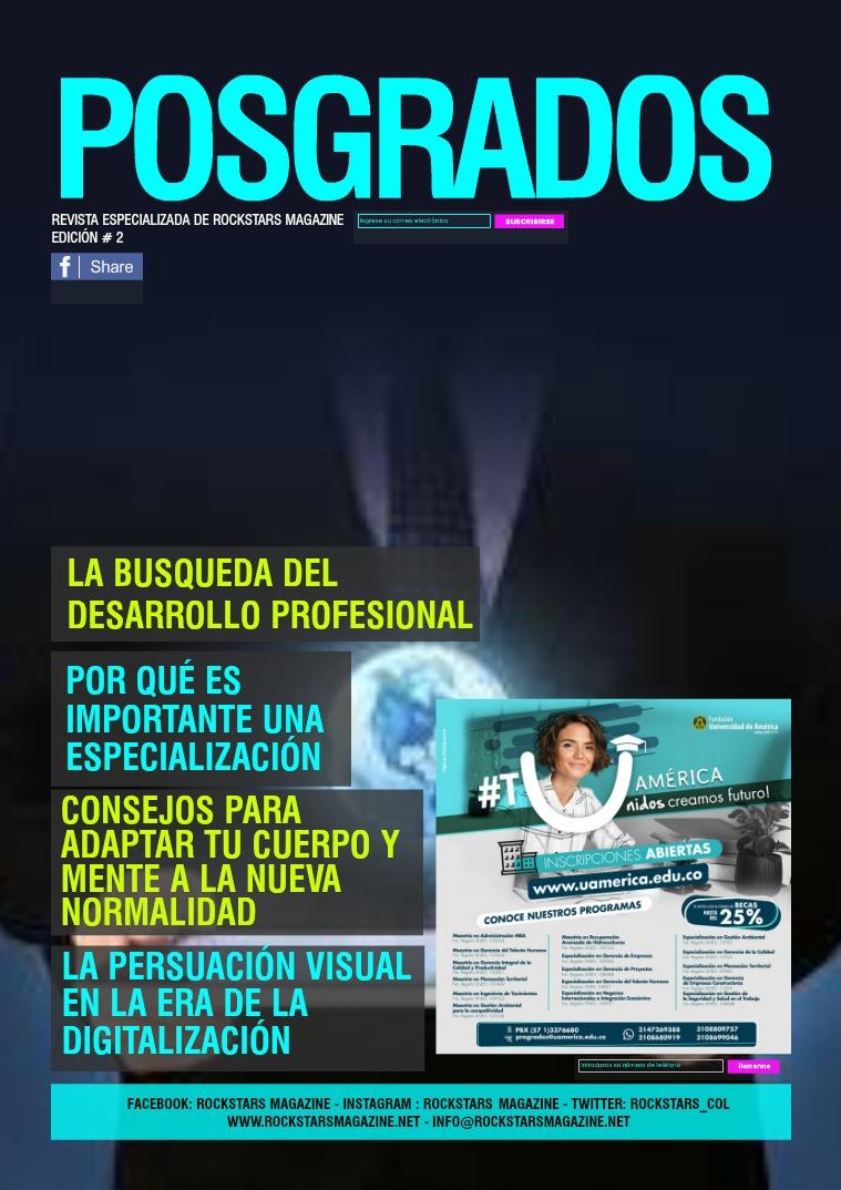 Revista Especializada Posgrados Edición #2