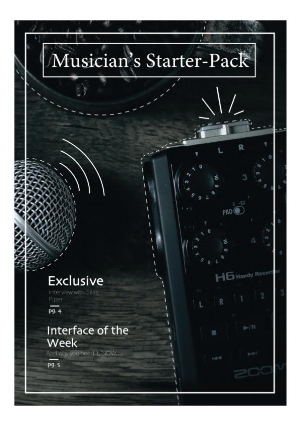 Musician's Starter Pack Musician's Starter Pack #1