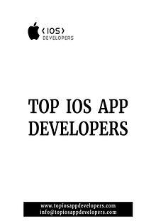 iOS App Development Trends 2019