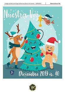 Periodico Escolar Nuestra Voz nº40 - Edición Navidad