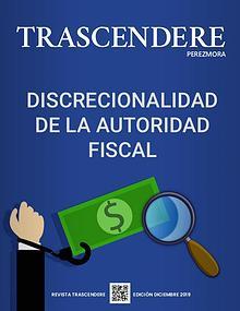 TRASCENDERE PEREZMORA- Edición Diciembre 2019