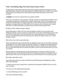 Velofel Australia: (ZA) Male Enhancement Pills, Works Reviews & Buy!