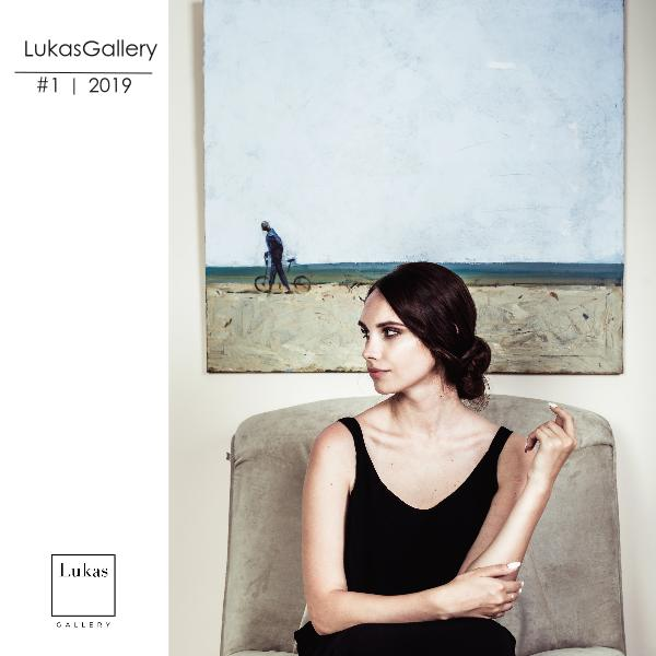 Каталог галереи актуального искусства LukasGallery 2019 г. Базовый каталог на 2019 год обновленный вариант
