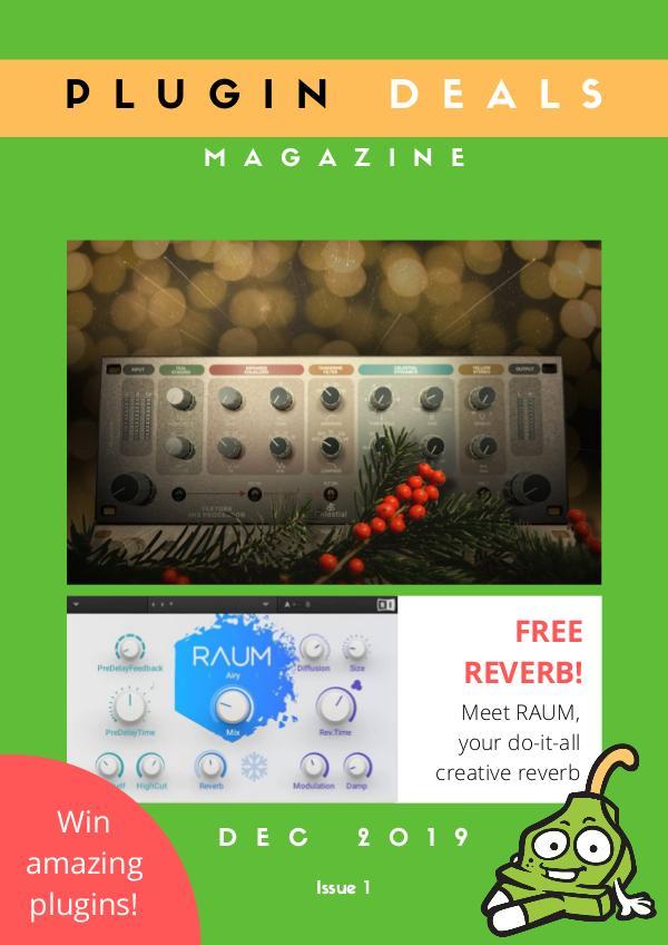 Plugin Deals Magazine Dec 2019