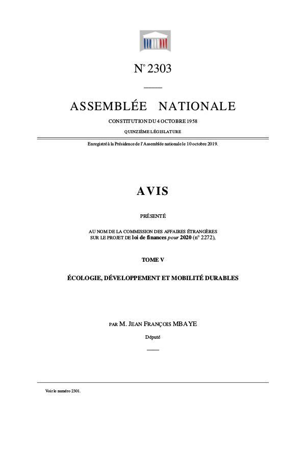 Ma première publication Rapport 2