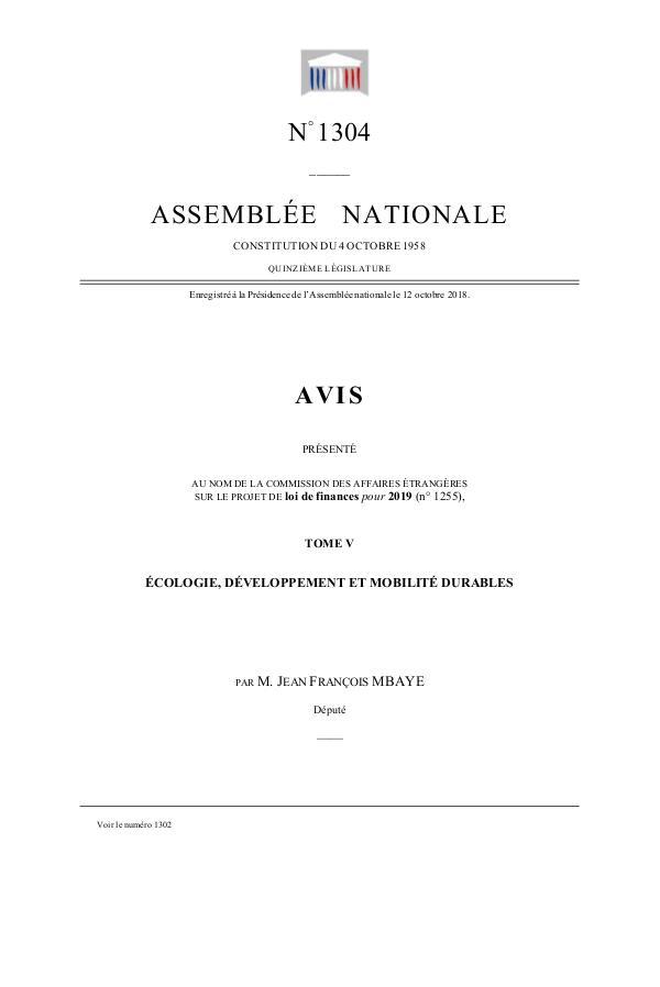 Ma première publication Rapport 1
