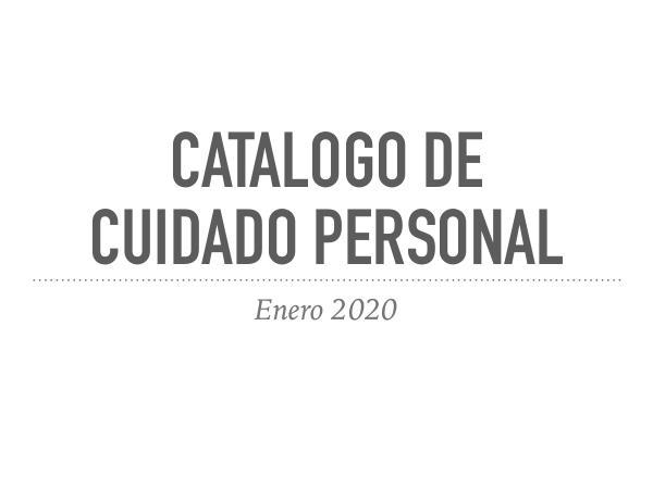 Catalogos Catalogo de cuidado personal
