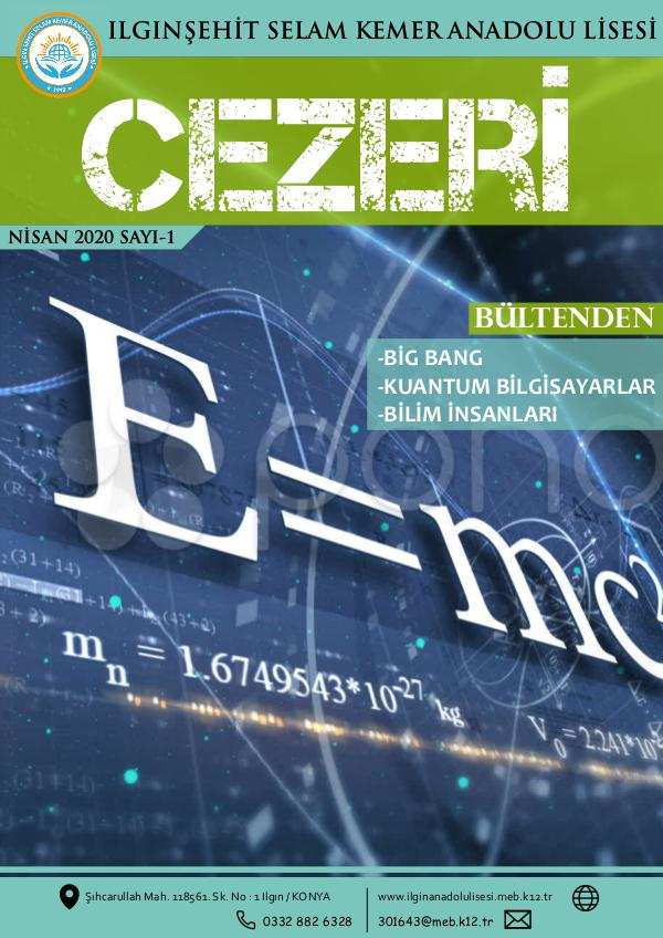 ŞSKAL Fizik Dergisi 03223209_Fizik_E-Bulten