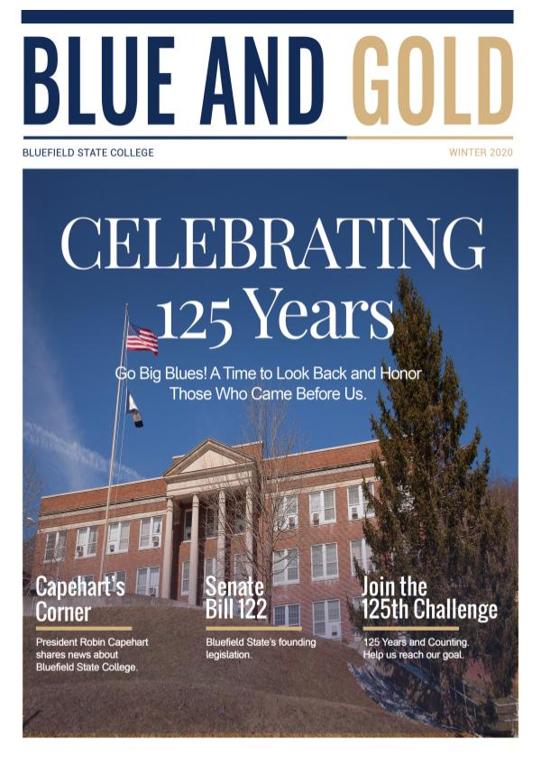 Blue and Gold Blue and Gold Winter Edition 2020