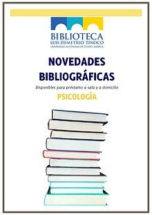 Novedades bibliográficas del mes