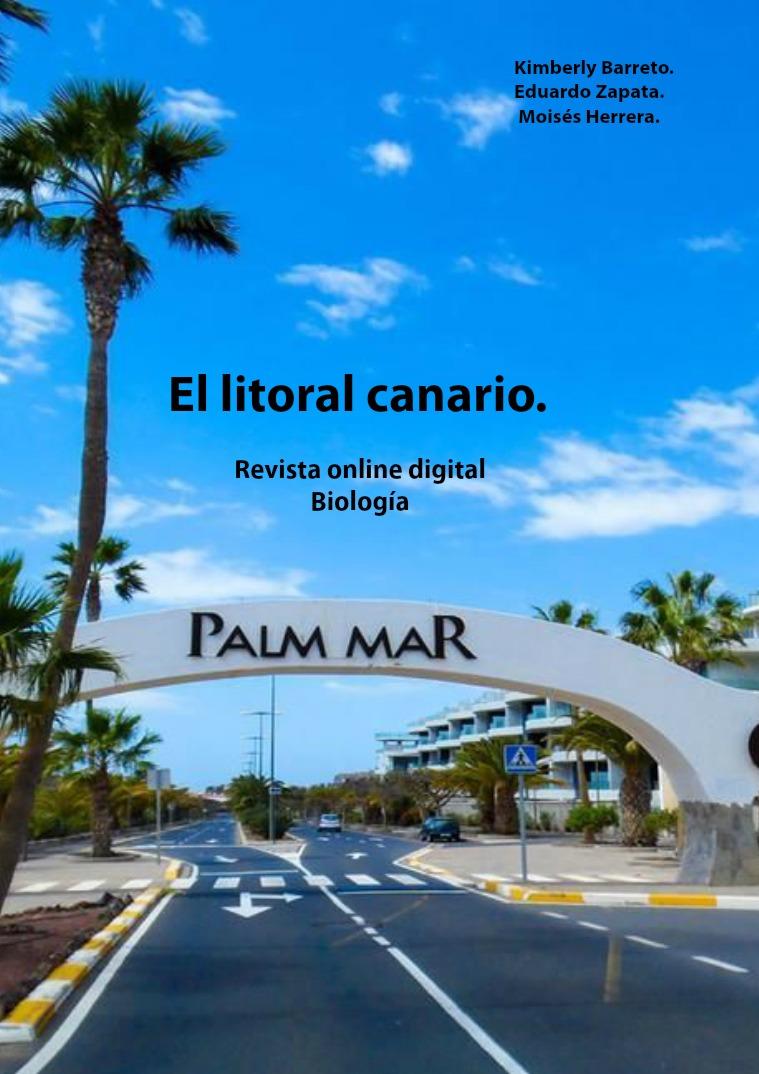 Fauna y flora de la zona litoral. Zona litoral canaria