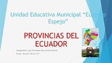 Provincias del Ecuador