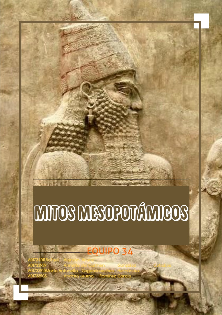 Mitos Mesopotámicos Mitos Mesopotámicos