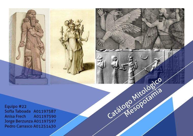 Catálogo Mitológico - Mesopotamia Mitos