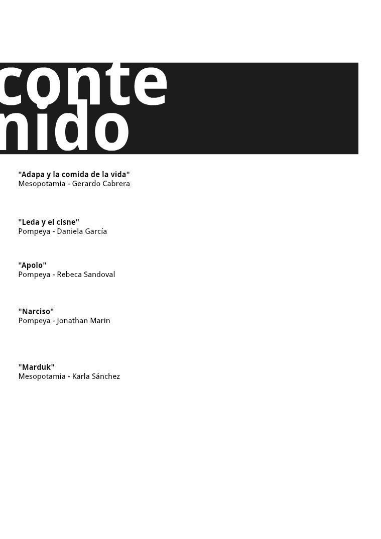 Catálogo Mitológico 1er Volúmen