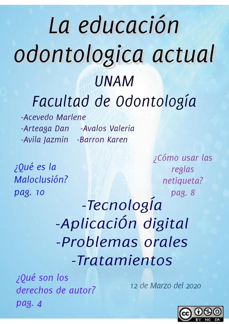 La educación odontologica actual La educación odontologica actual