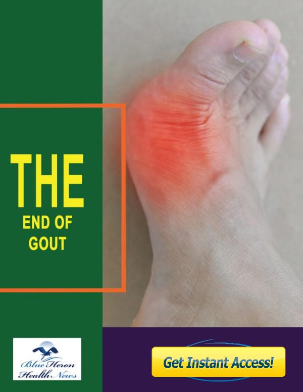 The End of Gout PDF, eBook by Blue Heron Health News The End of Gout PDF, eBook by Blue Heron