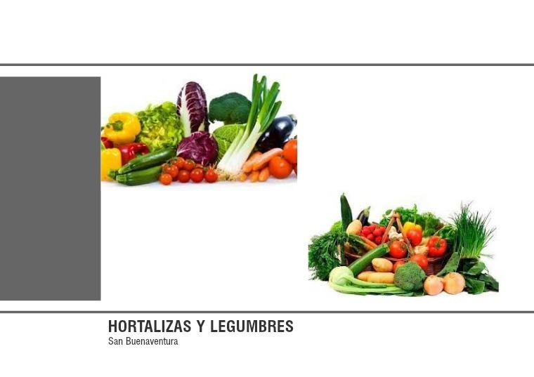 Hortalizas y legumbres hortalizas