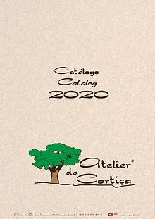 Catalogo 2020 Atelier da Cortiça