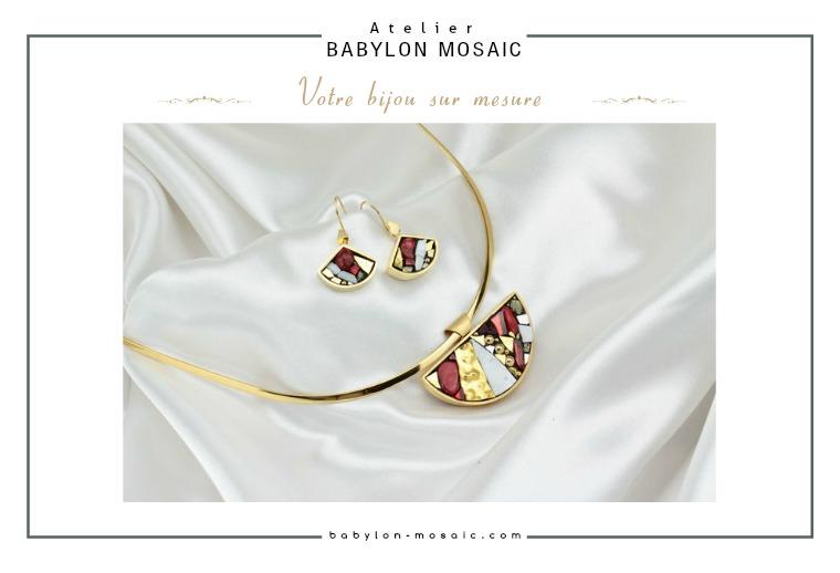 Catalogue Babylon Mosaic Bijoux 54 pages pour vous permettre de faire votre choix