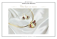 Catalogue Babylon Mosaic Bijoux