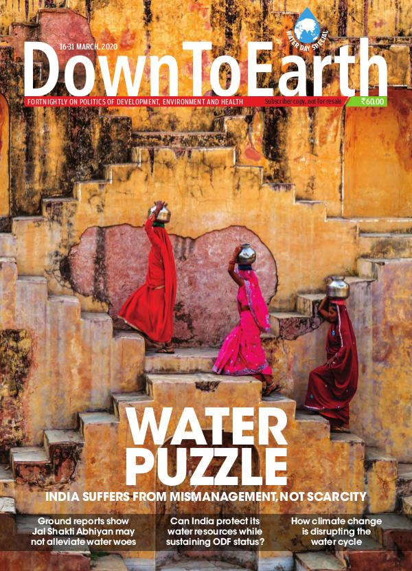 Down To Earth 16-31 March 2020 WATER PUZZLE - Down To Earth 16-31 March 2020