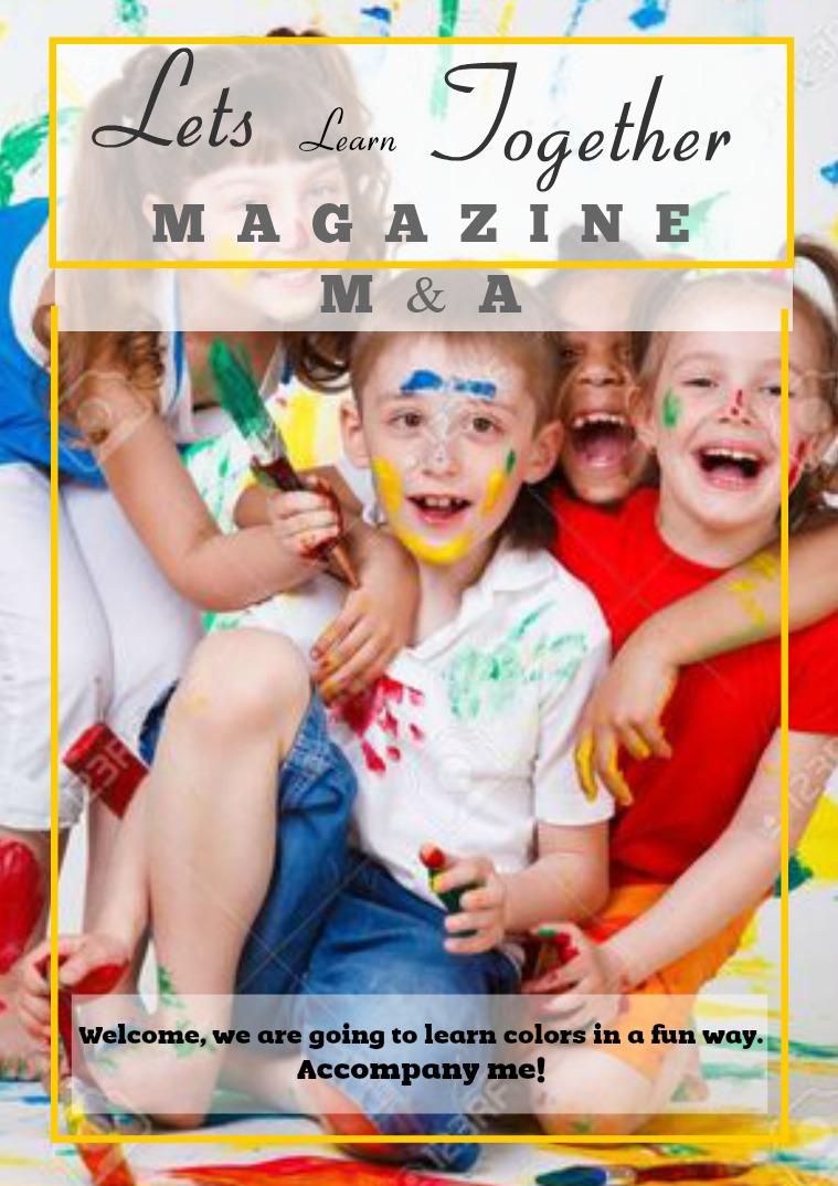 Magazine M&A Mi primera publicación