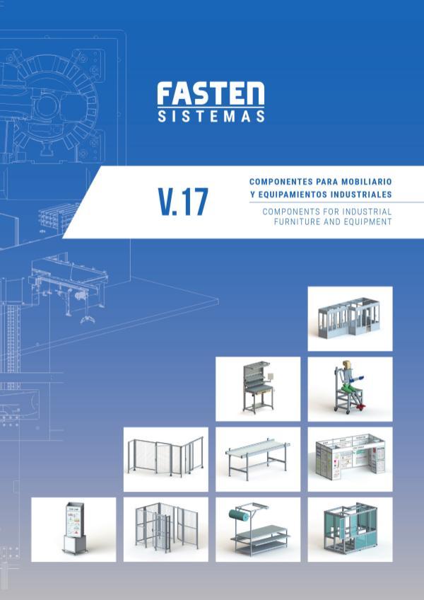 Catalogo Aluminio Perfil Estructural / SLP Industrial Systems CATALOGO FASTEN DISTRIBUDORES