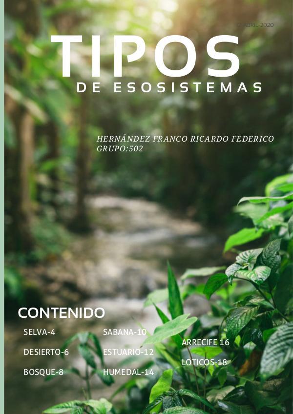 ecosistemas tipos 8 8.+Tipos+de+Ecosistemas+
