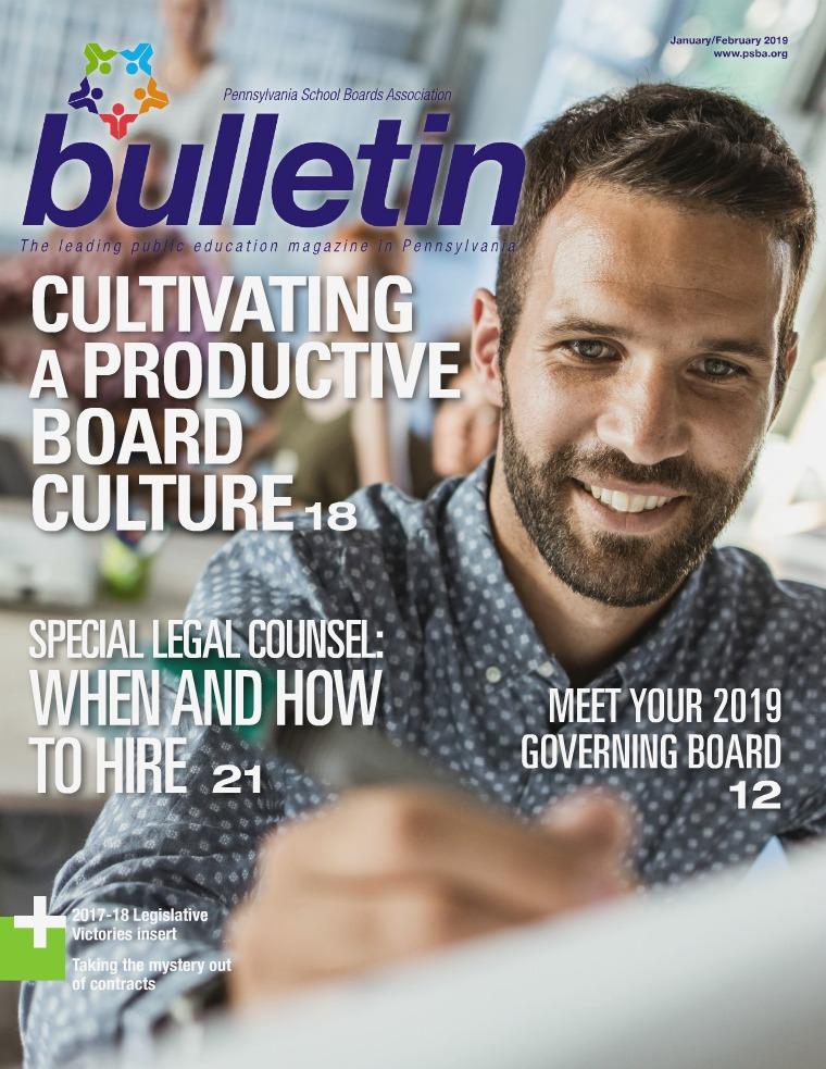 PSBA Bulletin Jan/Feb 2019
