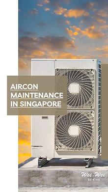 Aircon Maintenance in Singapore