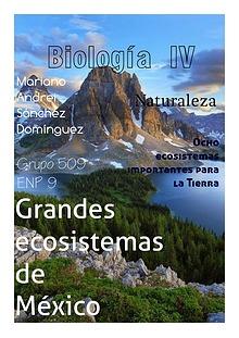 Ecosistemas del planeta