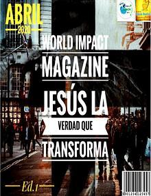 MAGAZINE JESUS LA VERDAD QUE TRANSFORMA