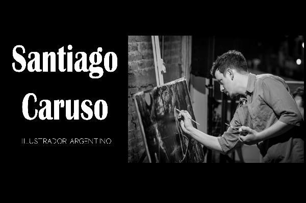 Santiago Caruso -Art Santiago Caruso