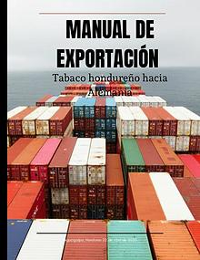 MANUAL DE EXPORTACIÓN