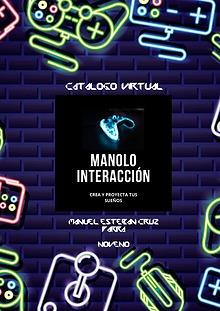 CATALOGO DE VENTAS  DE  MANOLO INTERACCIÓN
