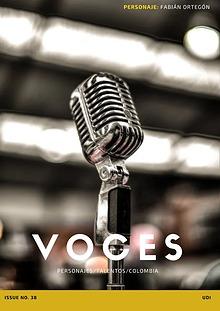 Voces- Entrevista a Fabián Ortegón