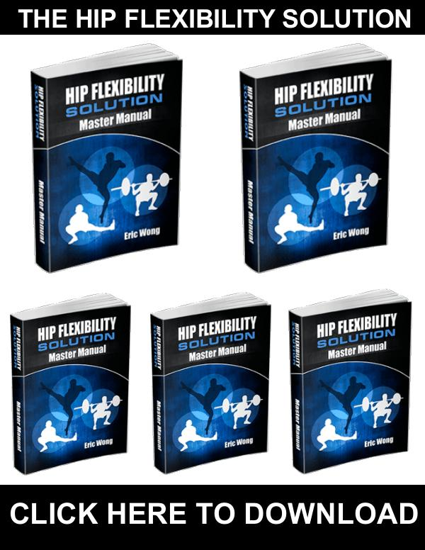 The Hip Flexibility Solution PDF, eBook by Eric Wong The Hip Flexibility Solution PDF