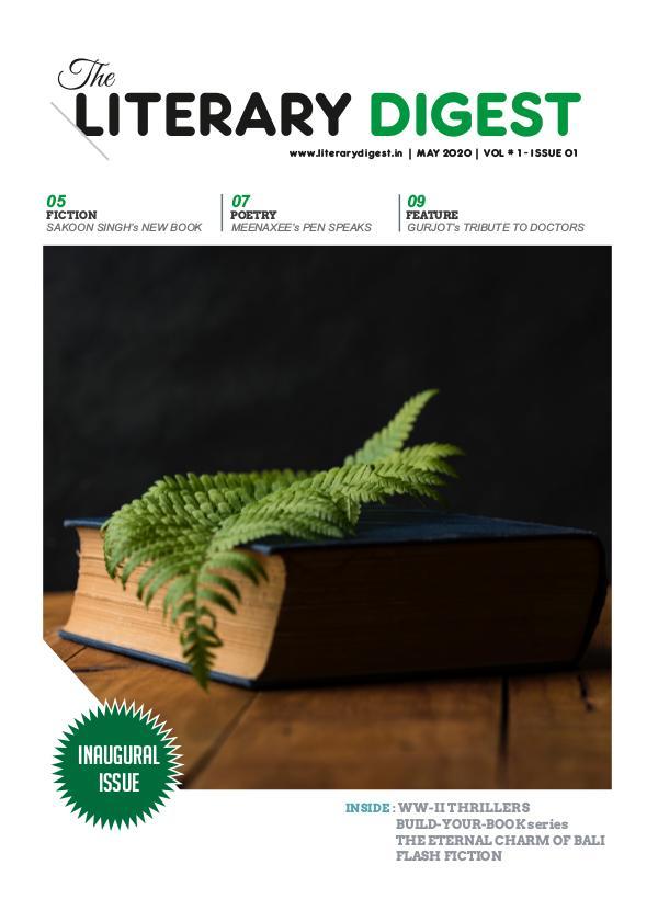 Literary Digest LITERARY DIGEST MAY 2020