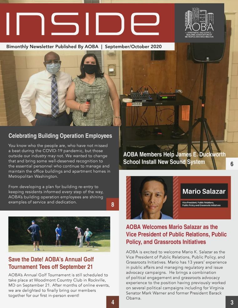 2020 Inside Newsletter September/October
