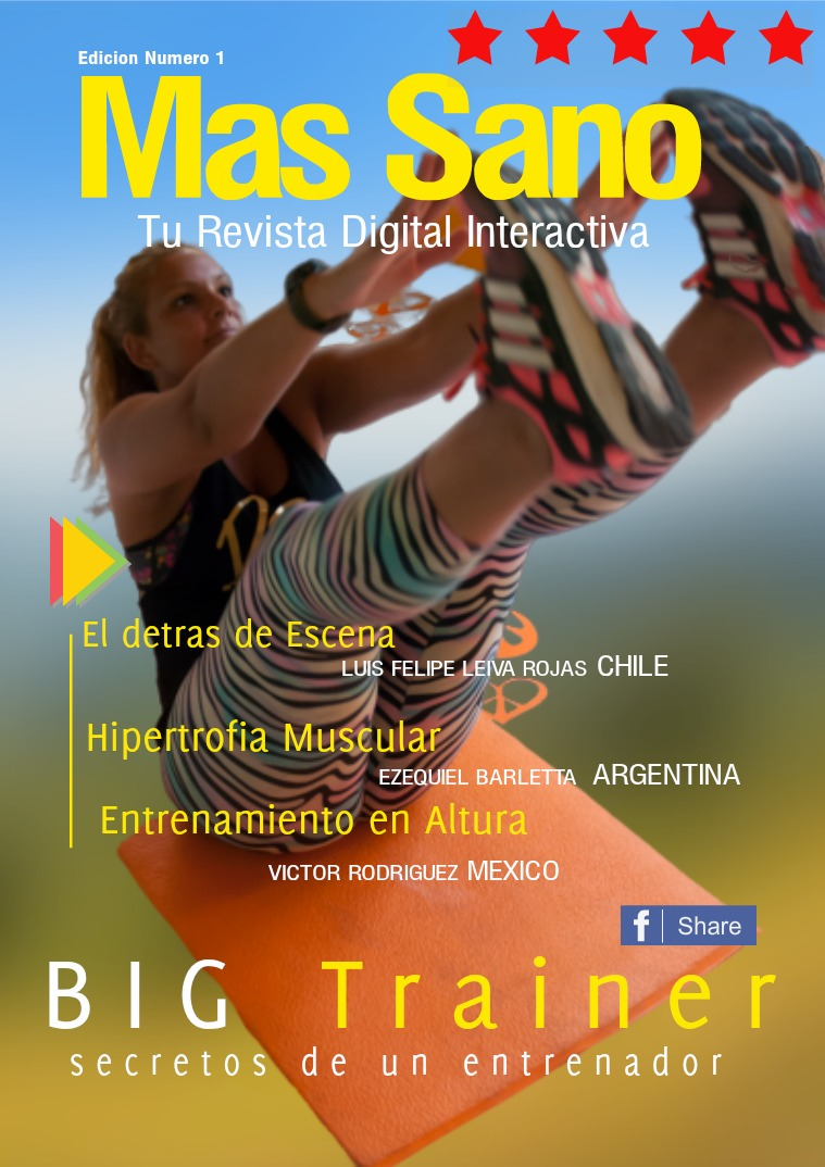Mas Sano Tu Revista Digital Interactiva