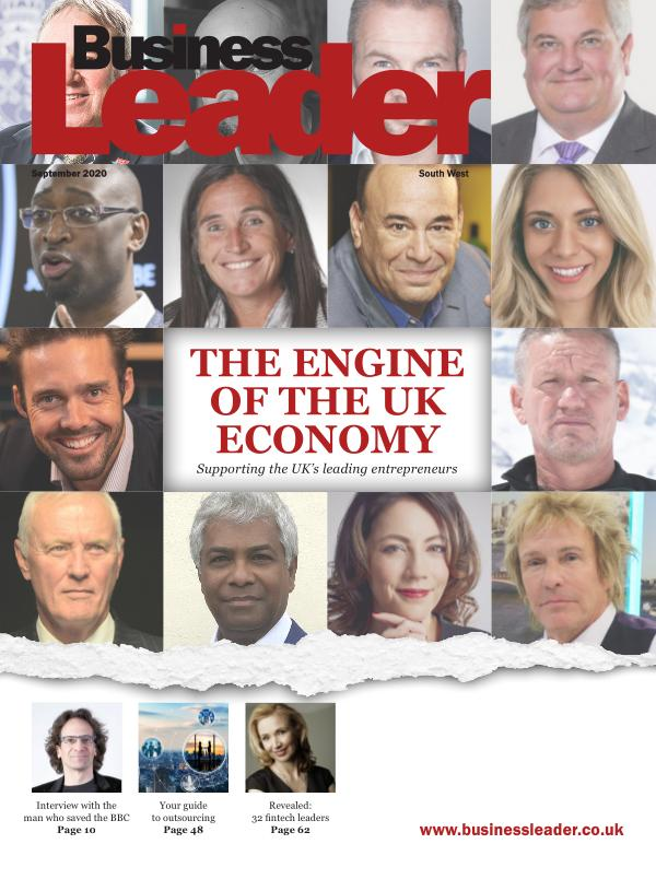 Business Leader Magazine: September 2020 South West Edition
