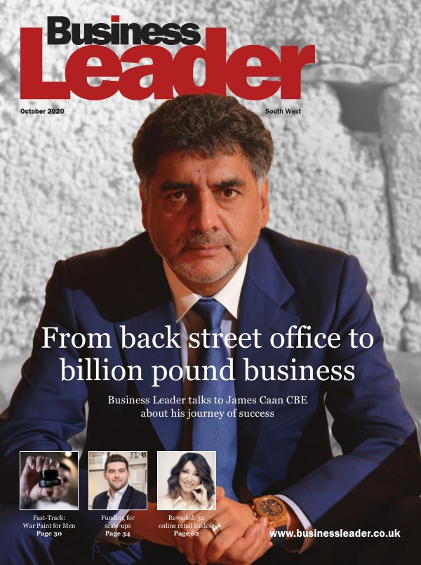 Oct 2020 Business Leader Magazine SW South West Edition