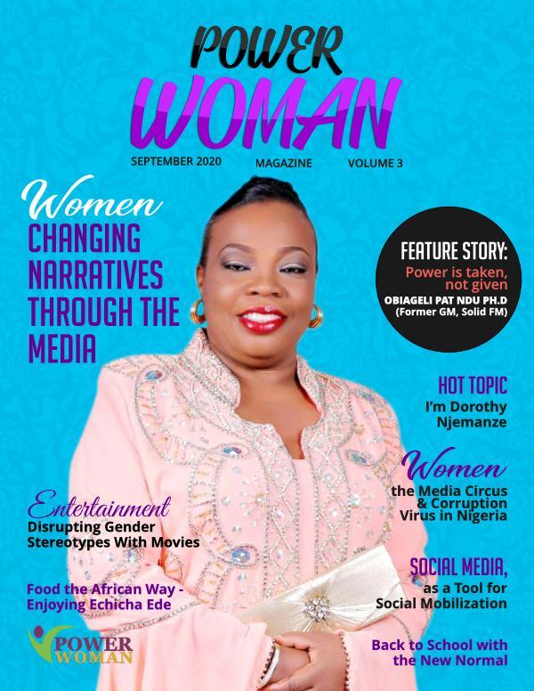 POWER WOMAN DIGITAL MAGAZINE SEPTEMBER 2020
