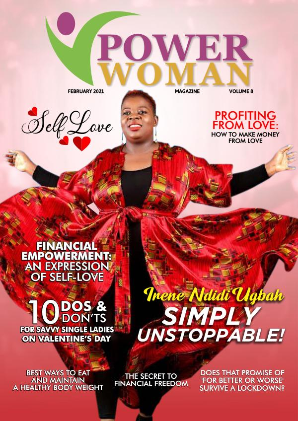 POWER WOMAN DIGITAL MAGAZINE FEBRUARY EDITION