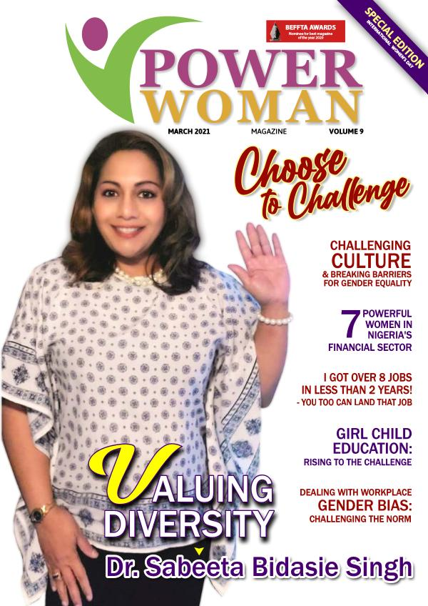 POWER WOMAN DIGITAL MAGAZINE MARCH EDITION