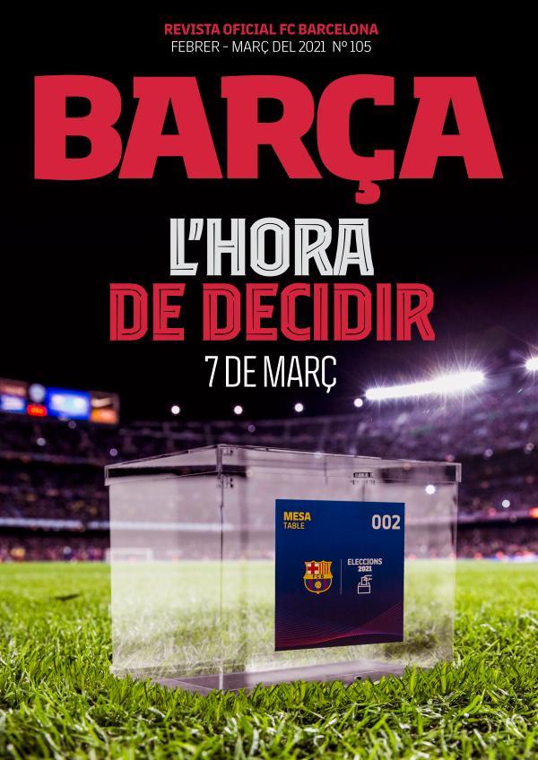 Barça 105 Febrer - Març del 2021